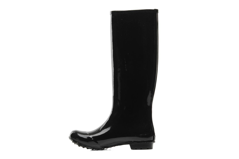Laarzen Be&D skeleton rain boot Zwart voorkant