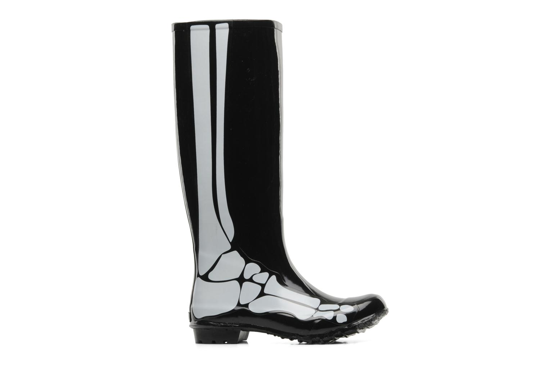 Laarzen Be&D skeleton rain boot Zwart achterkant