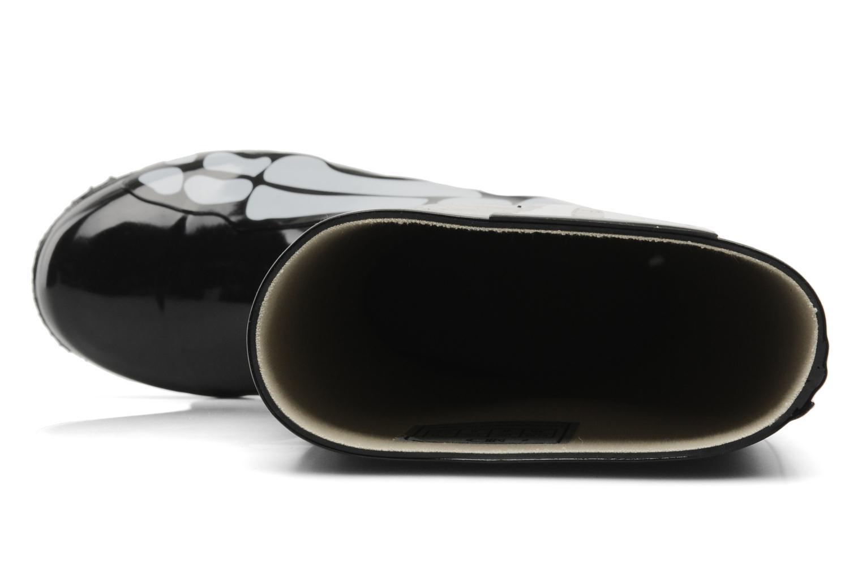 Laarzen Be&D skeleton rain boot Zwart links