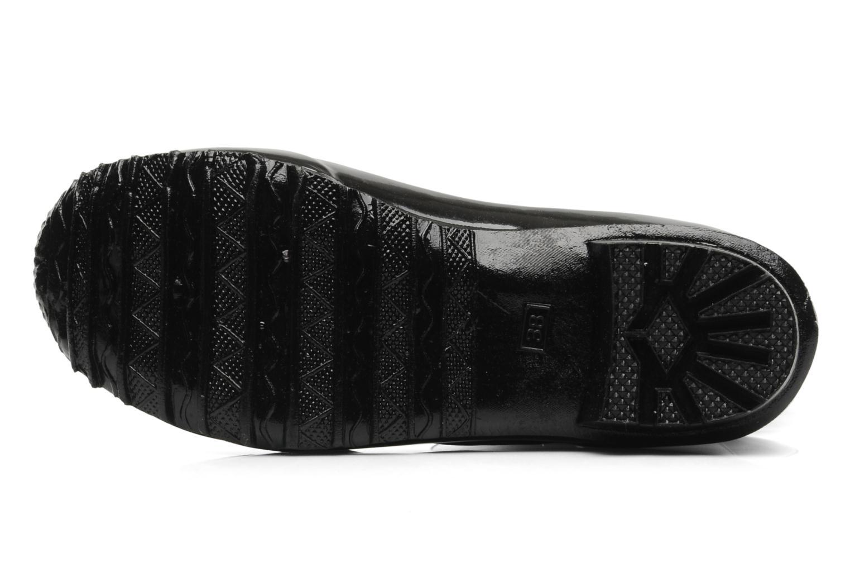 skeleton rain boot Black 001