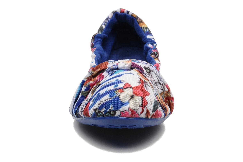 Ballerines Desigual Florencia Multicolore vue portées chaussures