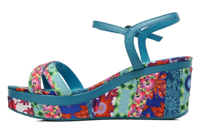 Sandales et nu-pieds Desigual Dustin Multicolore vue face