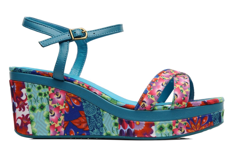 Sandales et nu-pieds Desigual Dustin Multicolore vue derrière