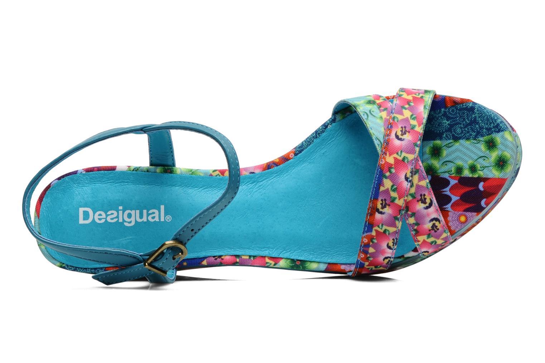 Sandales et nu-pieds Desigual Dustin Multicolore vue gauche