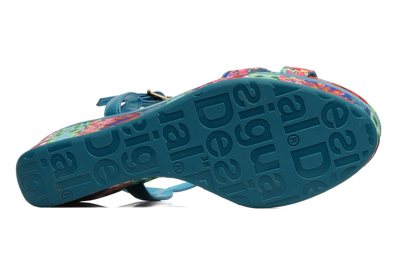 Sandales et nu-pieds Desigual Dustin Multicolore vue haut