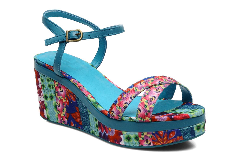 Sandales et nu-pieds Desigual Dustin Multicolore vue détail/paire