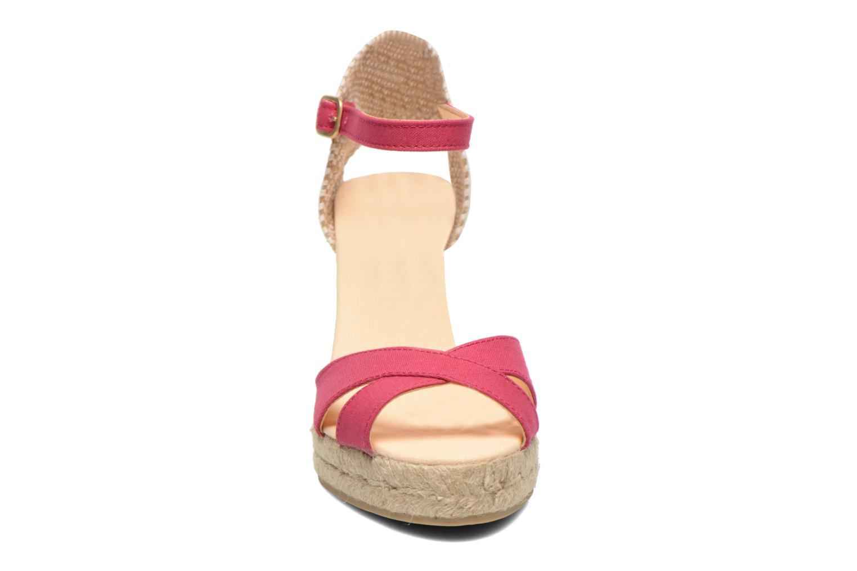 Sandalen Desigual Eva rosa schuhe getragen