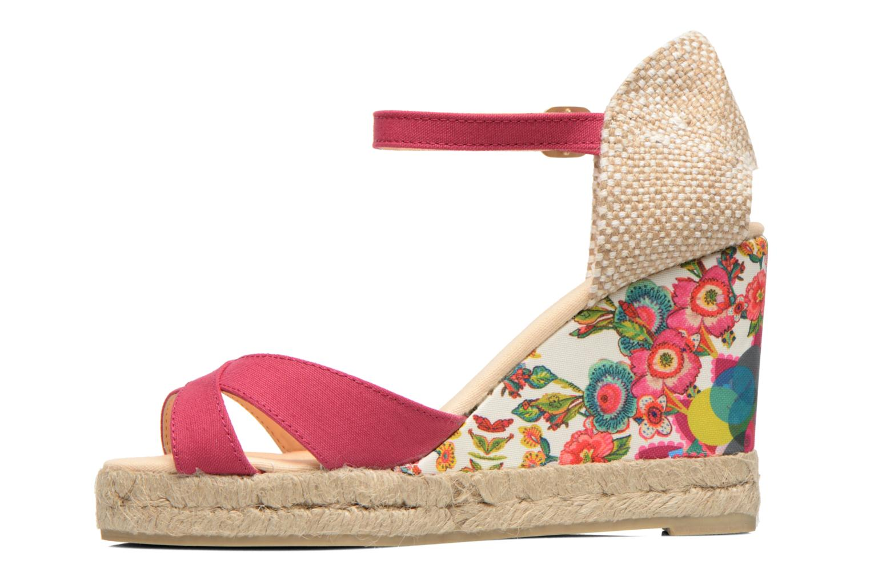 Sandales et nu-pieds Desigual Eva Rose vue face