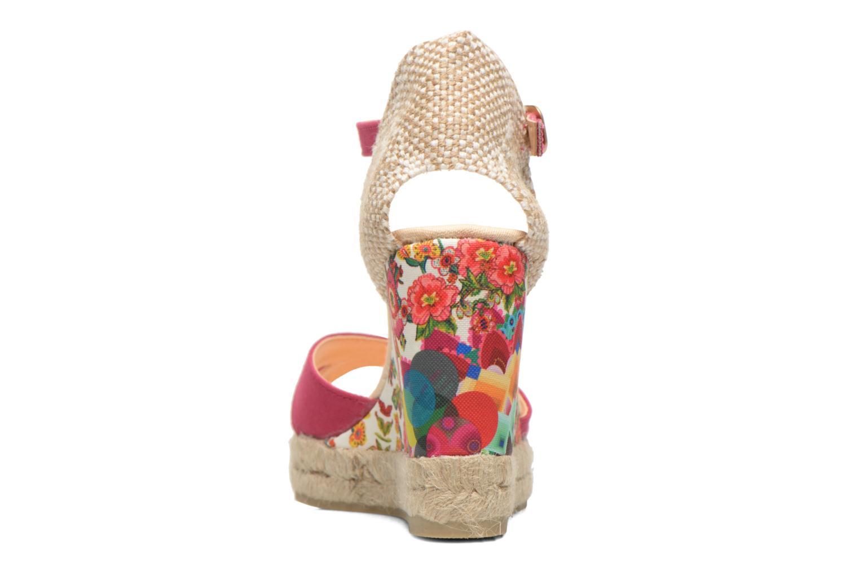 Sandales et nu-pieds Desigual Eva Rose vue droite