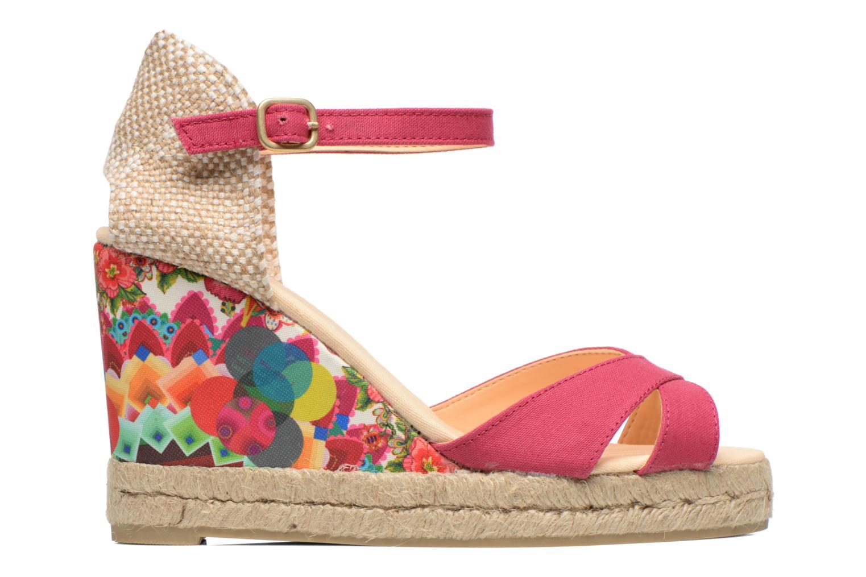 Sandales et nu-pieds Desigual Eva Rose vue derrière