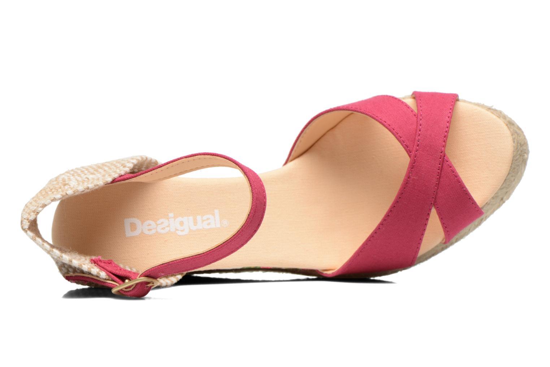 Sandalen Desigual Eva rosa ansicht von links