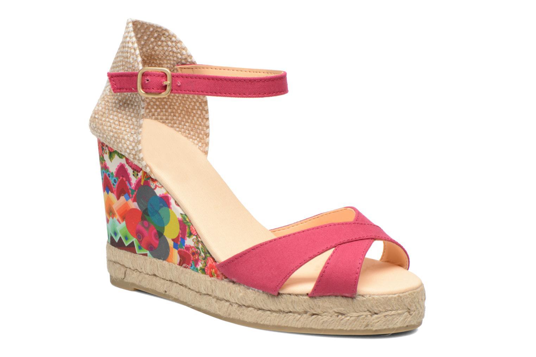 Sandales et nu-pieds Desigual Eva Rose vue détail/paire