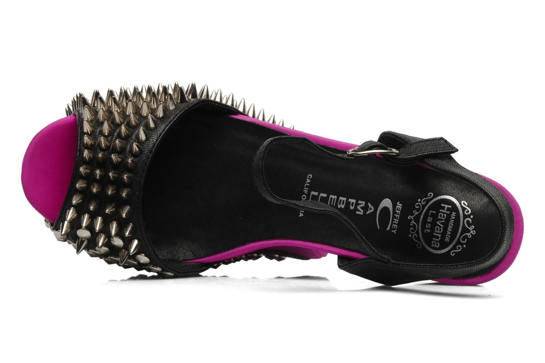Pink Jeffrey Campbell Silver Black Vicious 66Tq84