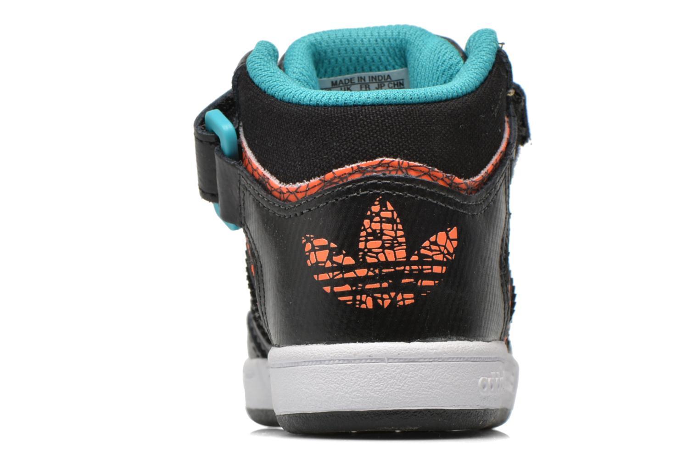 Baskets Adidas Originals Varial Mid I Noir vue droite