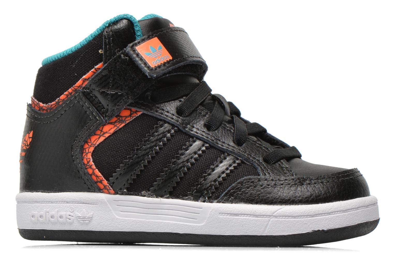 Sneaker Adidas Originals Varial Mid I schwarz ansicht von hinten