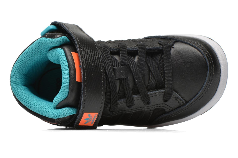 Baskets Adidas Originals Varial Mid I Noir vue gauche