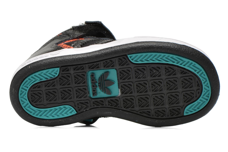 Baskets Adidas Originals Varial Mid I Noir vue haut
