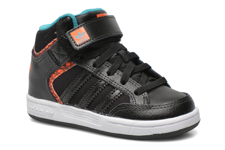 Baskets Adidas Originals Varial Mid I Noir vue détail/paire