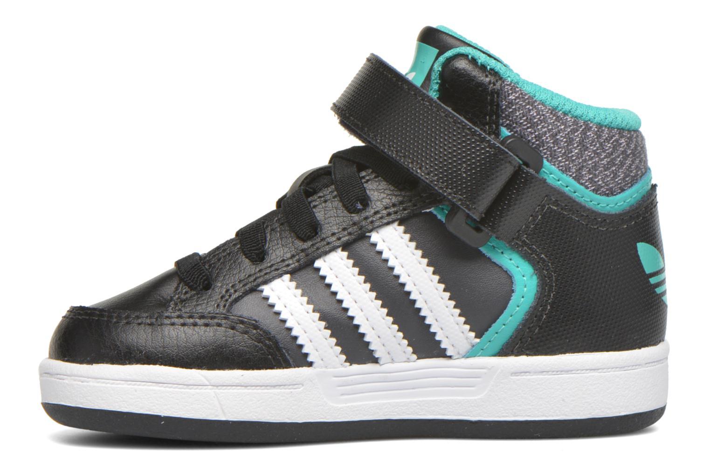 Sneakers Adidas Originals Varial Mid I Zwart voorkant