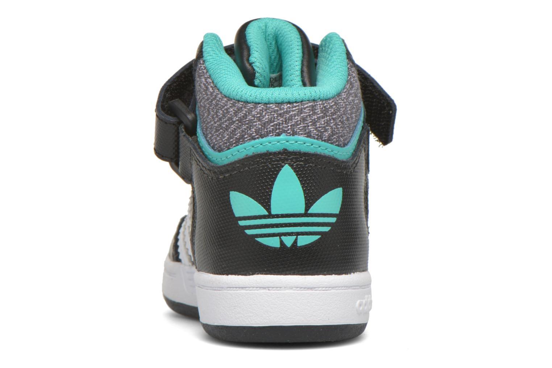 Sneaker Adidas Originals Varial Mid I schwarz ansicht von rechts