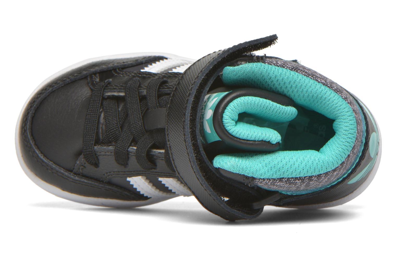 Sneaker Adidas Originals Varial Mid I schwarz ansicht von links