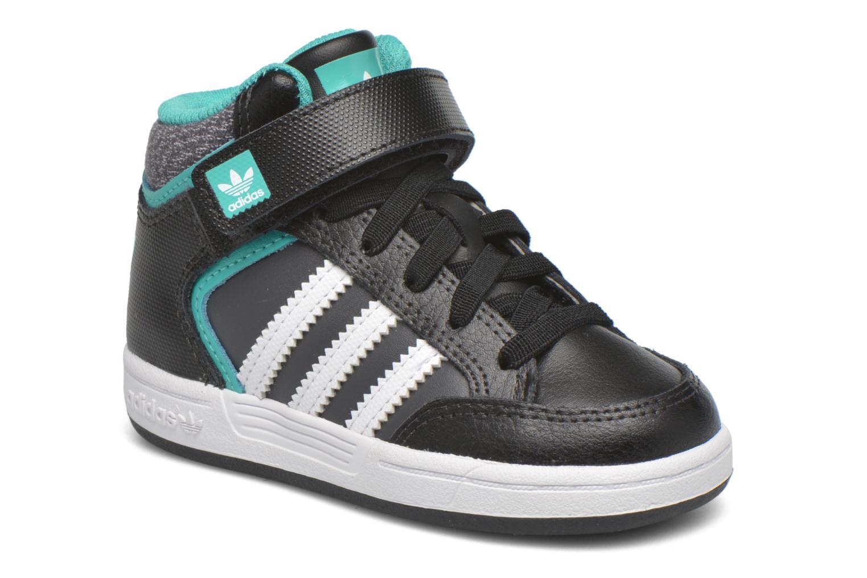 Sneakers Adidas Originals Varial Mid I Zwart detail