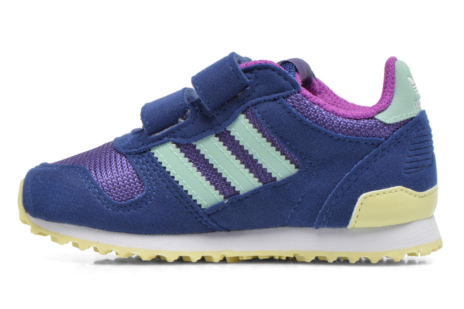 Baskets Adidas Originals Zx 700 Cf I Bleu vue face