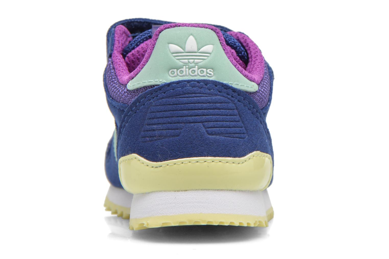 Trainers Adidas Originals Zx 700 Cf I Blue view from the right
