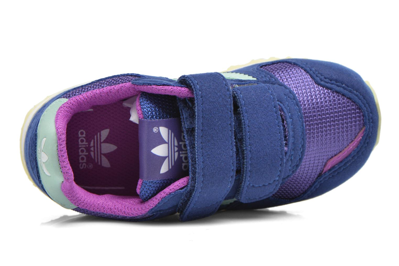 Sneaker Adidas Originals Zx 700 Cf I blau ansicht von links