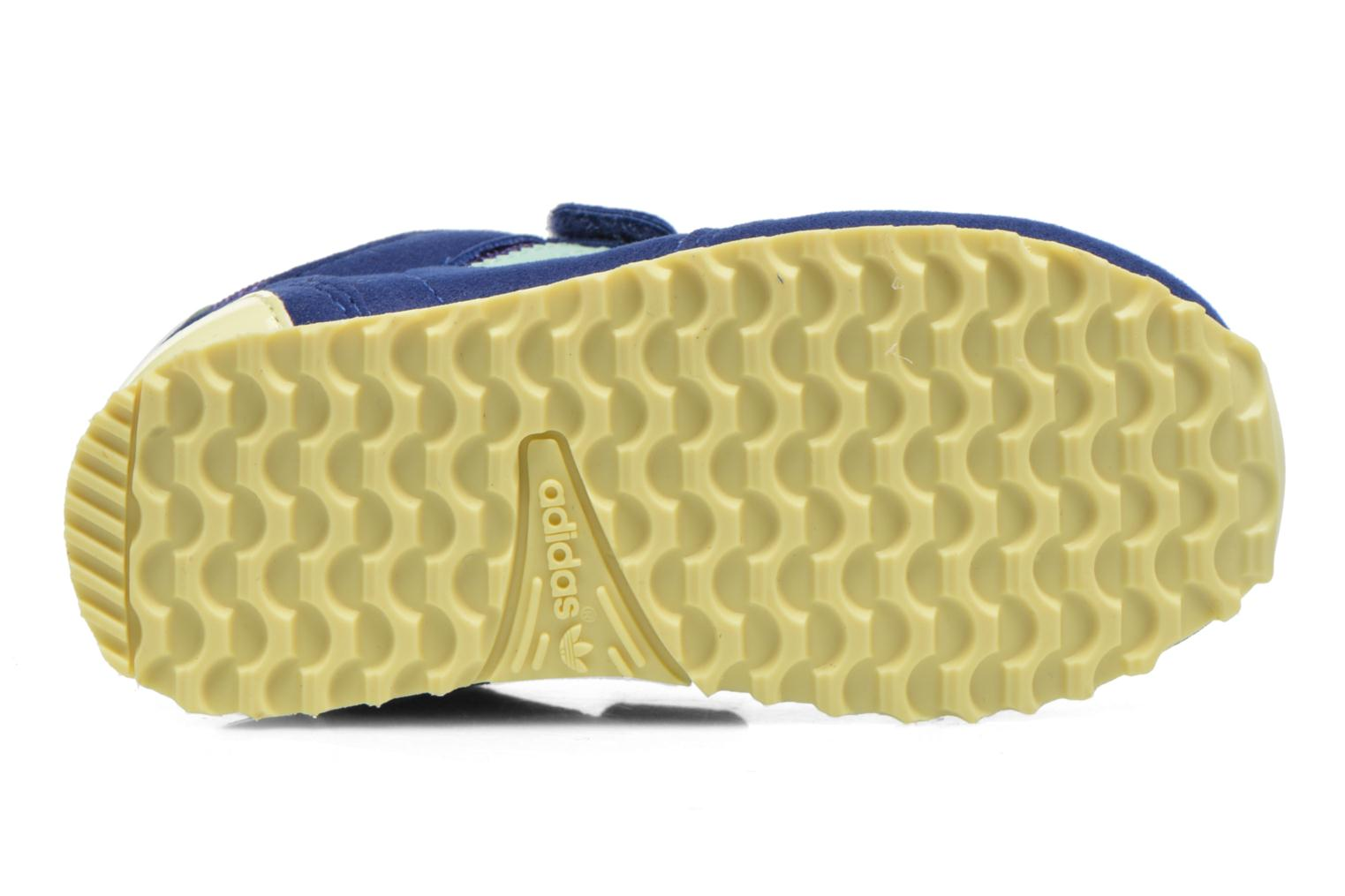 Trainers Adidas Originals Zx 700 Cf I Blue view from above