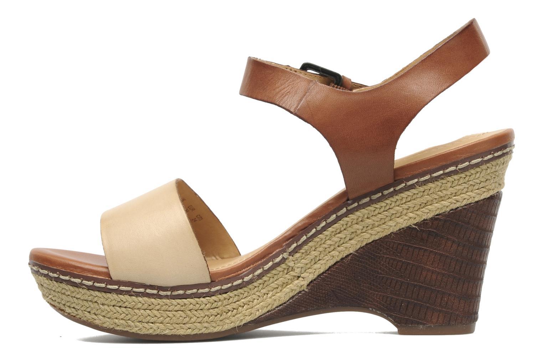 Sandales et nu-pieds Naturalizer LARK Marron vue face