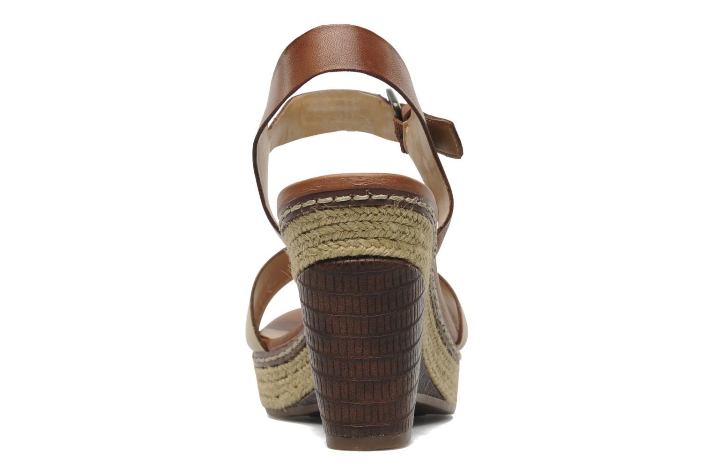 Sandales et nu-pieds Naturalizer LARK Marron vue droite