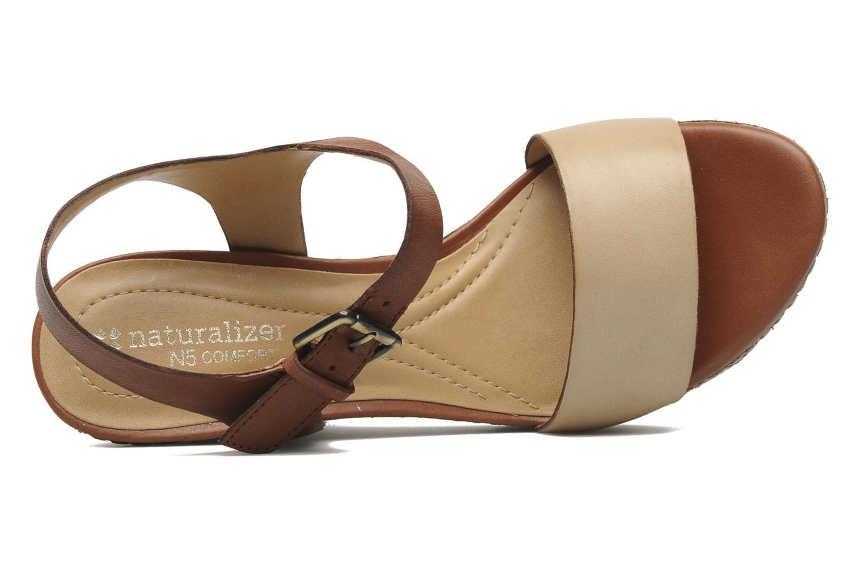 Sandales et nu-pieds Naturalizer LARK Marron vue gauche