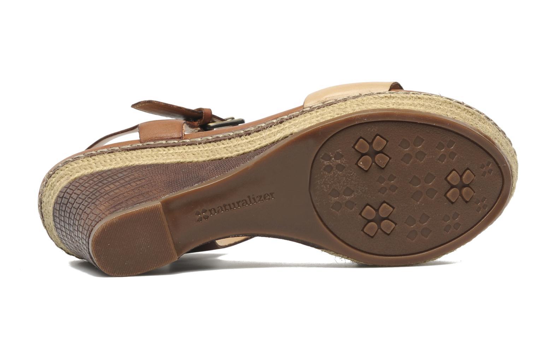 Sandales et nu-pieds Naturalizer LARK Marron vue haut