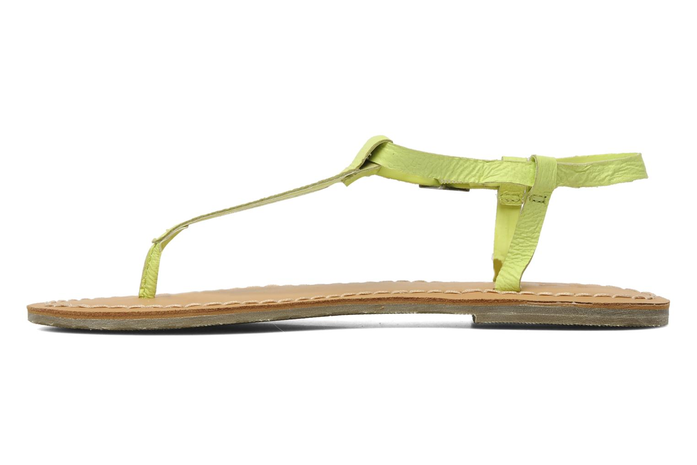 Sandales et nu-pieds Roxy Nymph Jaune vue face