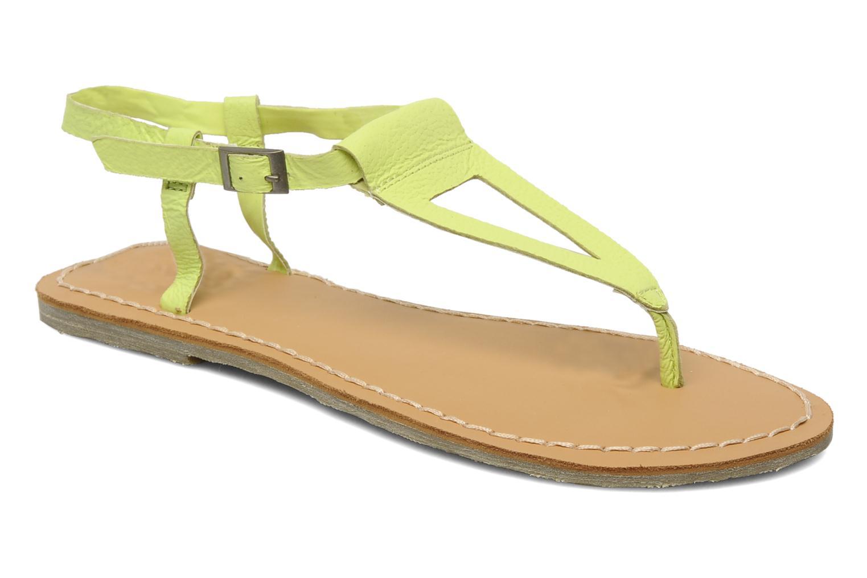 Sandales et nu-pieds Roxy Nymph Jaune vue détail/paire