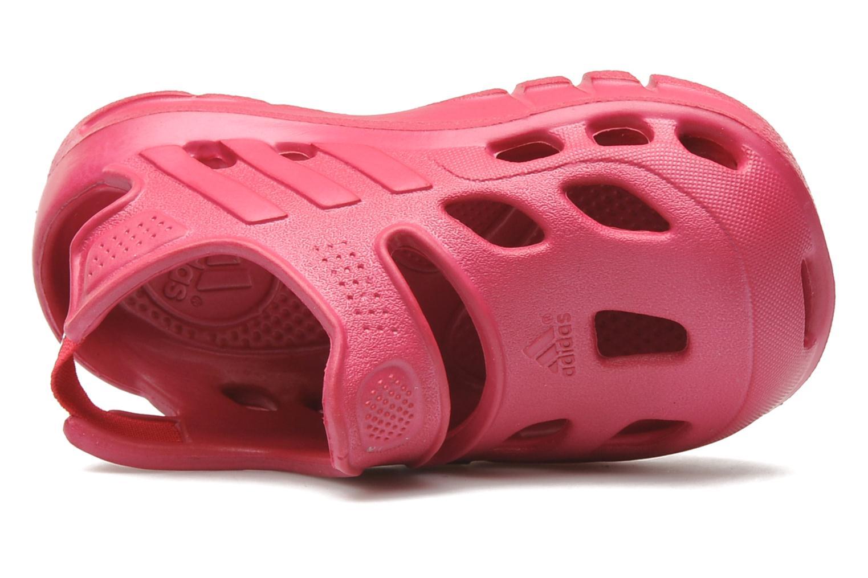 Sandales et nu-pieds Adidas Performance VariSol I Rose vue gauche