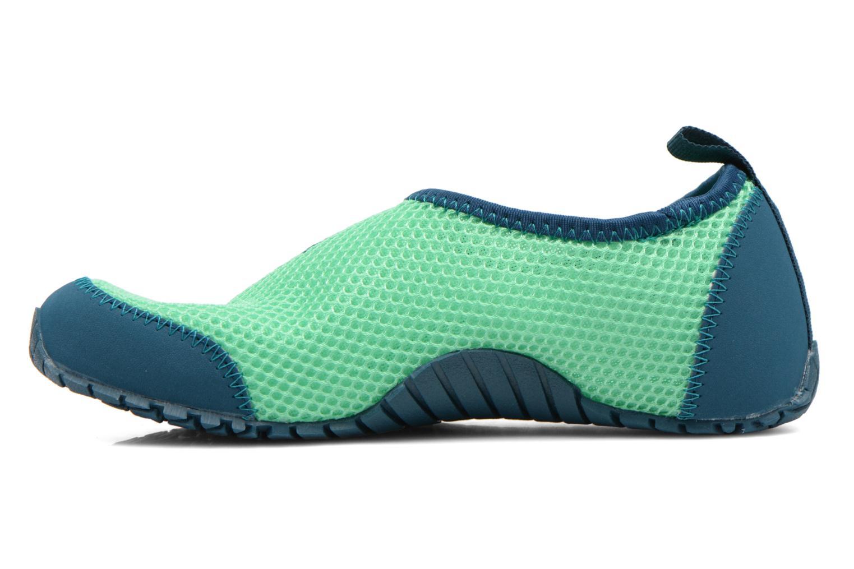 Sportschuhe Adidas Performance KUROBE K grün ansicht von vorne