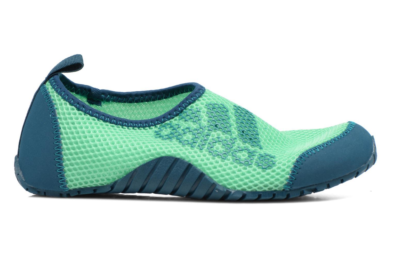 Sportschuhe Adidas Performance KUROBE K grün ansicht von hinten