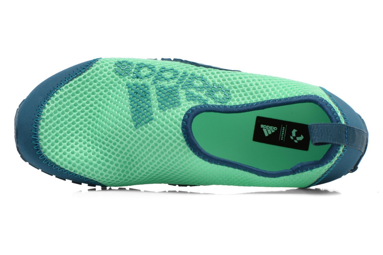 Sportschuhe Adidas Performance KUROBE K grün ansicht von links
