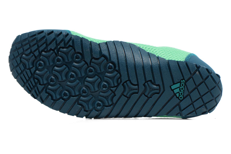 Sportschuhe Adidas Performance KUROBE K grün ansicht von oben
