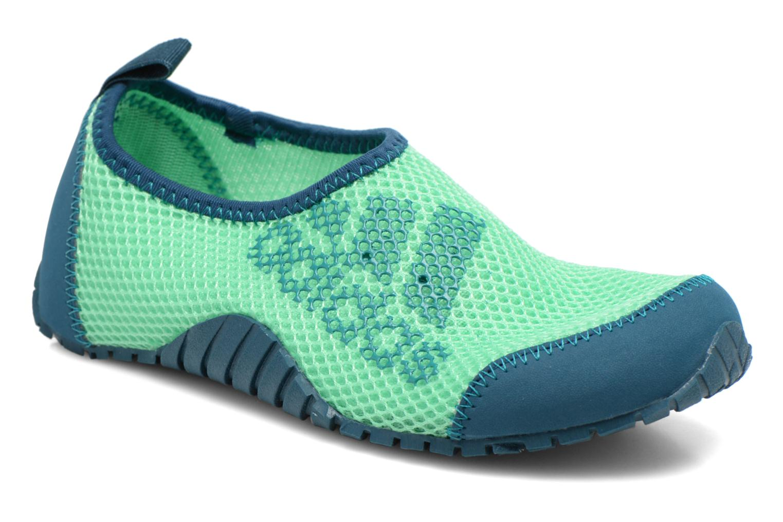 Sportschuhe Adidas Performance KUROBE K grün detaillierte ansicht/modell