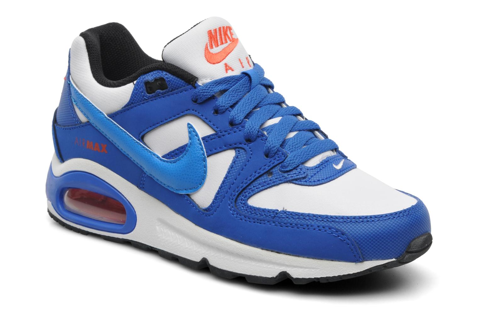 Air Max Command (GS) WHITEPHT BL-HYPR CBLT-TM ORNG