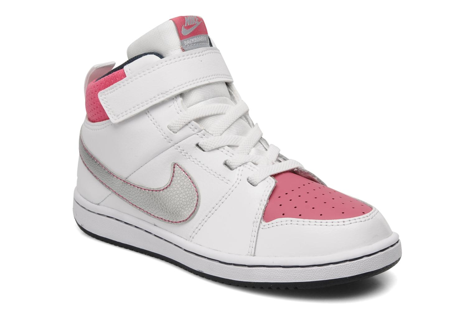 Sport shoes Nike Nike Backboard 2 MID (PS GIRL) White detailed view/ Pair