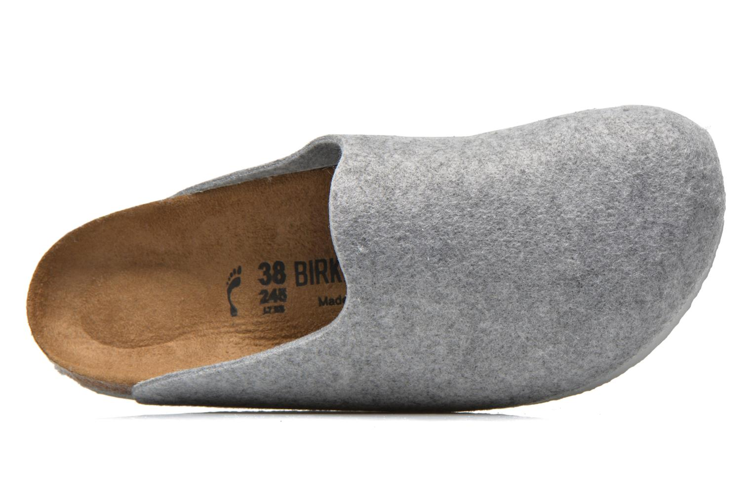 Mules & clogs Birkenstock Amsterdam W Grey view from the left