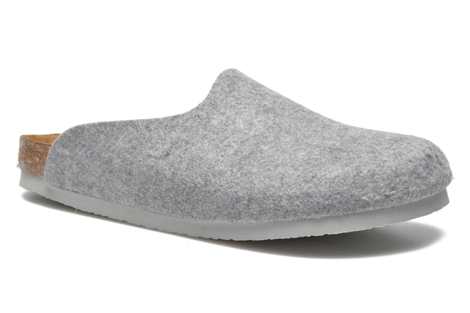 Mules & clogs Birkenstock Amsterdam W Grey detailed view/ Pair view