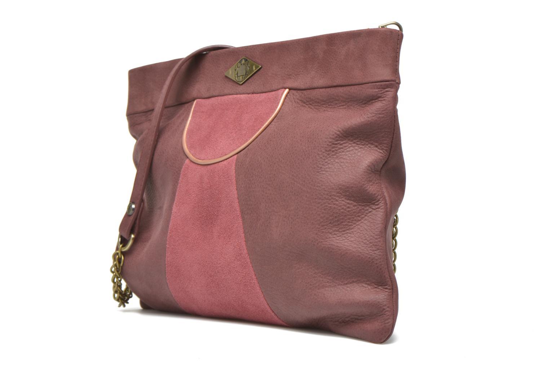Handtaschen Mohekann Narowé rosa schuhe getragen