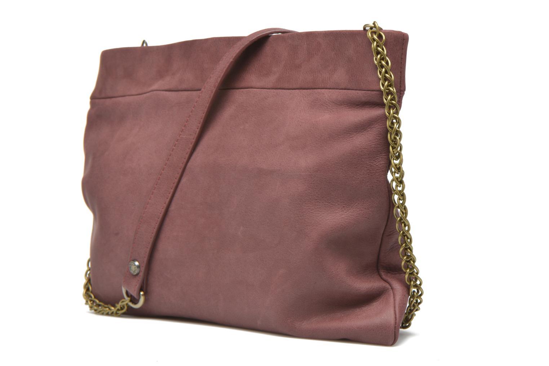 Handtaschen Mohekann Narowé rosa ansicht von rechts