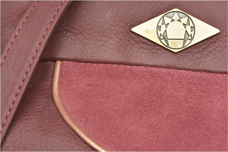 Handtaschen Mohekann Narowé rosa ansicht von links