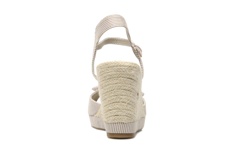 Sandales et nu-pieds Refresh CHOUNIK Beige vue droite